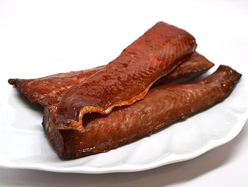 Sockeye Natural Strips Smoked Salmon