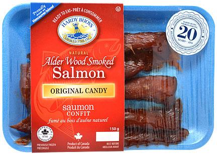 Atlantic Smoked Salmon Candied Trays