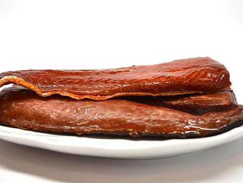 Sockeye Smoked Salmon Strips Bulk