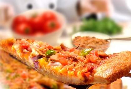 Smoked Salmon Toppers, Smoked Salmon Pizza!