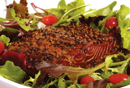 Peppercorn Smoked Salmon